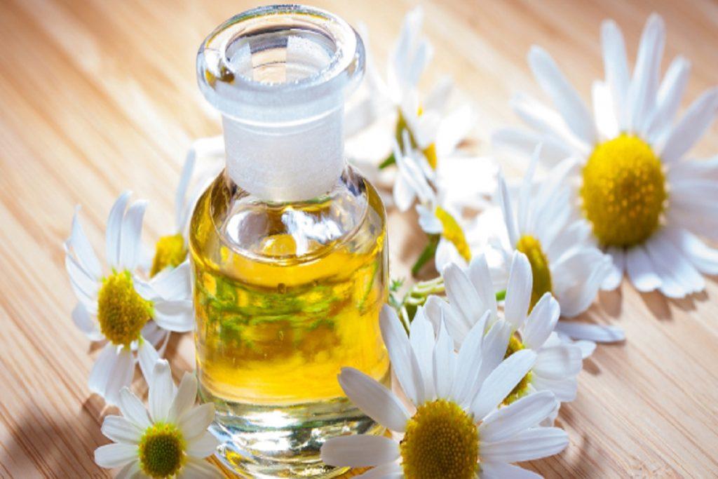 Chamomile-oil-as-essential-oils-for-headaches