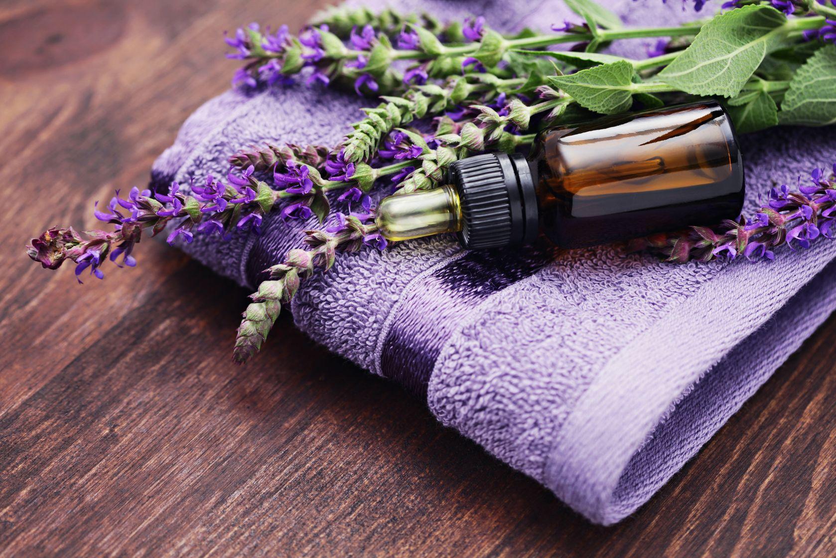 Lavender-oil-as-essential-oils-for-sore-throat