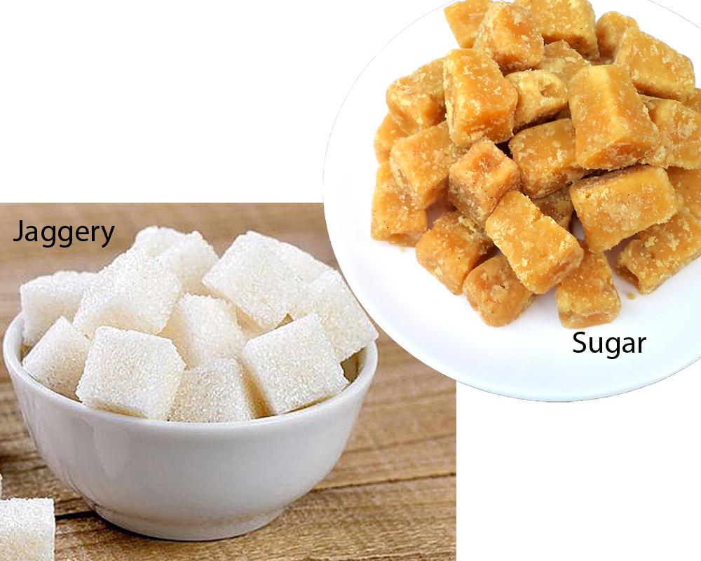 JAGGERY vs SUGAR